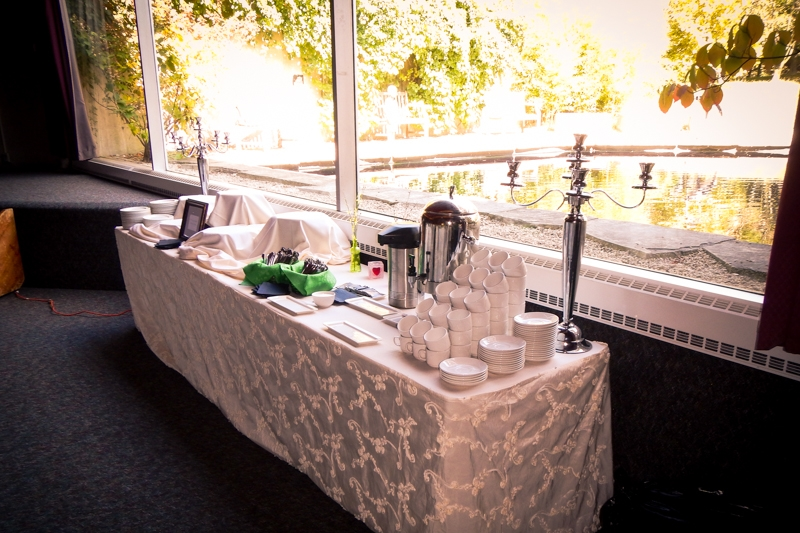 Arboretum Event Table