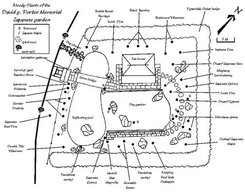 Japanese Garden Plans The Japanese Garden | The Arboretum